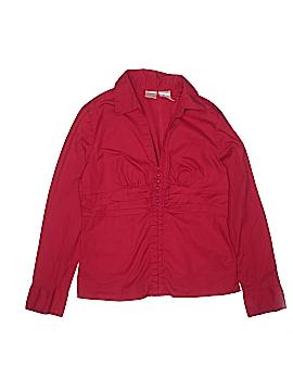 No Boundaries Long Sleeve Button-Down Shirt Size 11 - 13