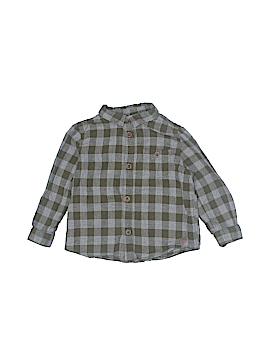 Zara Long Sleeve Button-Down Shirt Size 12-18 mo