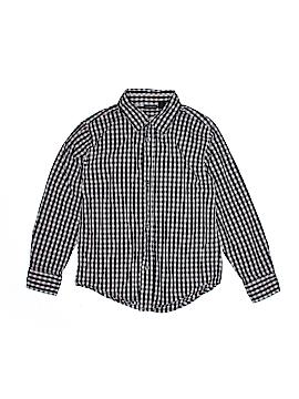 CALVIN KLEIN JEANS Long Sleeve Button-Down Shirt Size 7