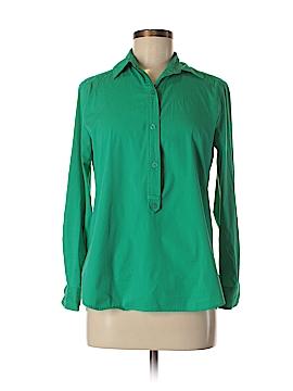 Jennifer & Grace Long Sleeve Button-Down Shirt Size S