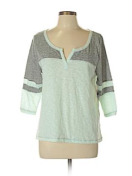 Billabong 3/4 Sleeve T-Shirt Size L