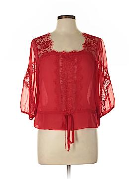 Nanette Lepore 3/4 Sleeve Silk Top Size 10