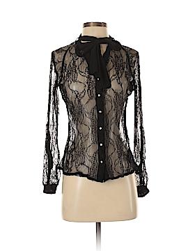 Kardashian Kollection Long Sleeve Blouse Size S