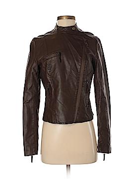 Ann Taylor Faux Leather Jacket Size XS