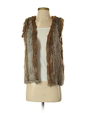 525 America Faux Fur Vest Size S