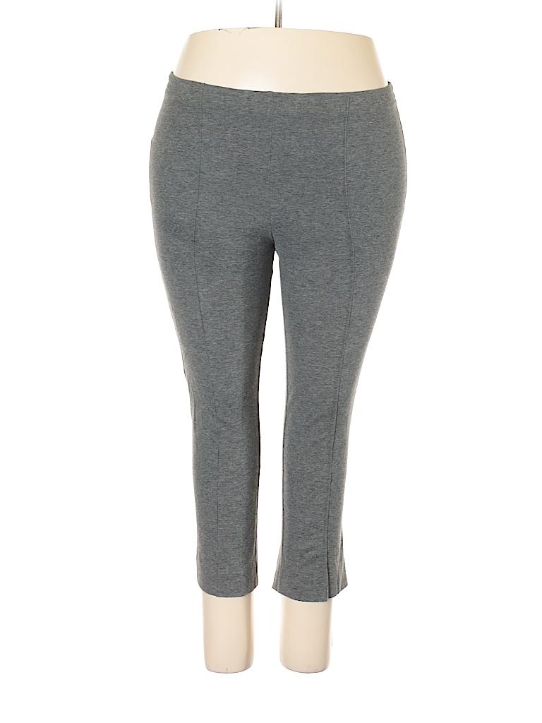 b4e663cebc1f6 Cathy Daniels Solid Gray Casual Pants Size M - 93% off