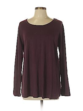 Style&Co Long Sleeve T-Shirt Size 0X (Plus)