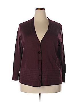 Sejour Wool Cardigan Size 2X (Plus)