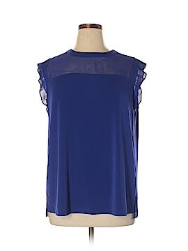 Worthington Short Sleeve Top Size 0X (Plus)