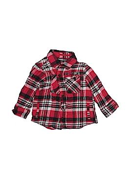 Ecko Unltd Long Sleeve Button-Down Shirt Size 24 mo