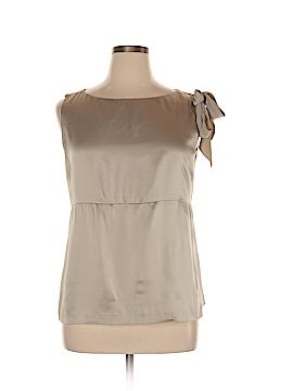 Linda Allard Ellen Tracy Sleeveless Silk Top Size 14