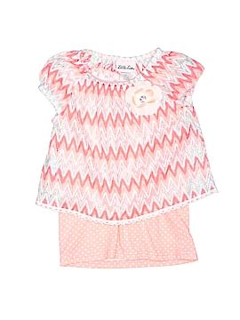 Little Lass Short Sleeve Top Size 4T