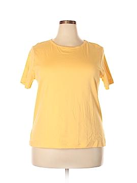 Elisabeth by Liz Claiborne Short Sleeve T-Shirt Size 1X (Plus)