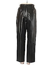 Vakko New York Women Leather Pants Size 8