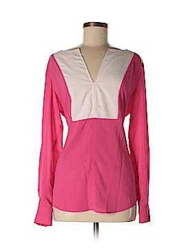 Bebe Long Sleeve Blouse Size Med - Lg