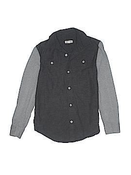 Tucker + Tate Long Sleeve Button-Down Shirt Size 8 - 10