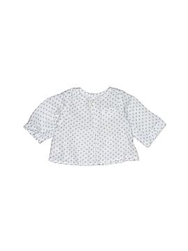 Bonpoint Long Sleeve Blouse Size 1