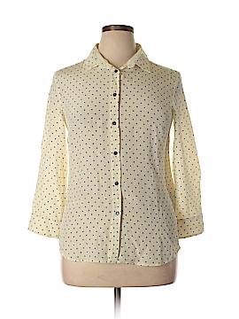 Weekend Max Mara Long Sleeve Silk Top Size 14