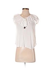 Rewind Women Short Sleeve Blouse Size S