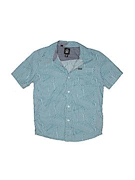 Volcom Short Sleeve Button-Down Shirt Size 10