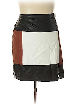INC International Concepts Faux Leather Skirt Size 18 (Plus)