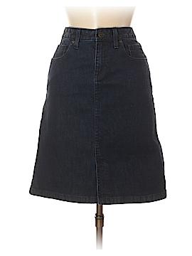 L.L.Bean Denim Skirt Size 2