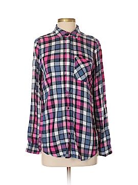 Artisan Long Sleeve Button-Down Shirt Size S