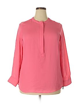 Apt. 9 Long Sleeve Button-Down Shirt Size 0X (Plus)