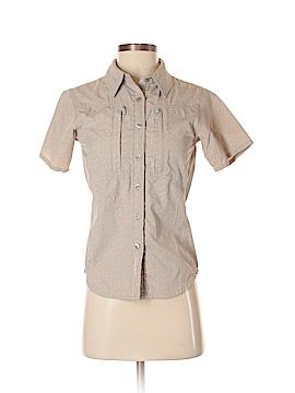 Cloudveil Short Sleeve Button-Down Shirt Size XS