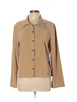 Fashion Bug Long Sleeve Button-Down Shirt Size XL