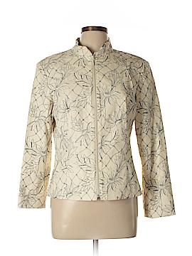 Clothes Faux Leather Jacket Size M