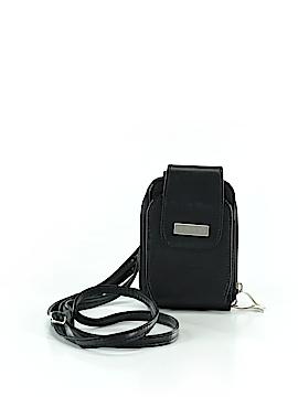 Buxton Leather Crossbody Bag One Size