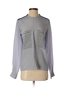 Stella McCartney Long Sleeve Silk Top Size 40 (IT)