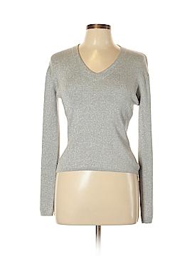 Joseph A. Silk Pullover Sweater Size L