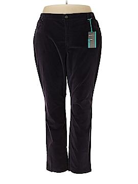 Style&Co Velour Pants Size 24 (Plus)