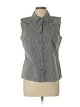 Chadwicks Sleeveless Button-Down Shirt Size 12