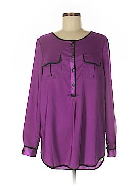 Daisy Fuentes Long Sleeve Blouse Size M
