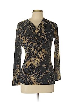 AK Anne Klein Long Sleeve Blouse Size L (Petite)
