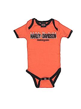 Harley Davidson Short Sleeve Onesie Size 3-6 mo