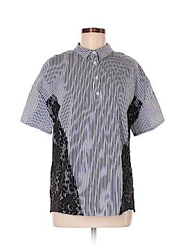 Zara TRF Short Sleeve Polo Size M