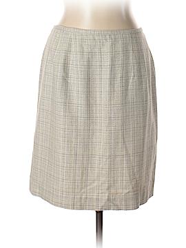 Norton McNaughton Silk Skirt Size 14 (Petite)