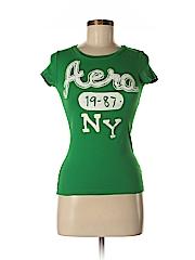 Aeropostale Women Short Sleeve T-Shirt Size S (Petite)