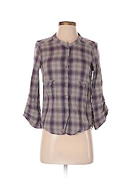 IRO Long Sleeve Button-Down Shirt Size Med (2)