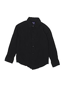 Arrow Long Sleeve Button-Down Shirt Size 8