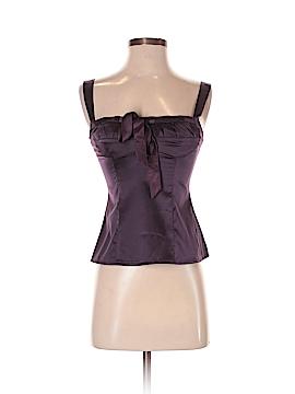 Nanette Lepore Sleeveless Silk Top Size 0