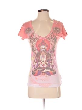 Christian Audigier Short Sleeve T-Shirt Size S