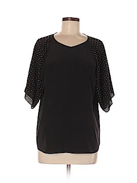 Bailey 44 Short Sleeve Silk Top Size M