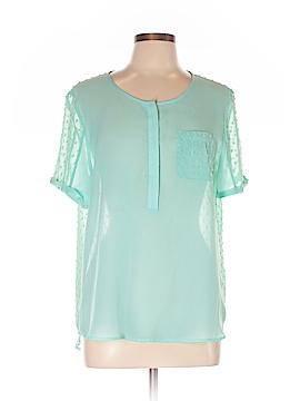 Reiss Short Sleeve Blouse Size 10