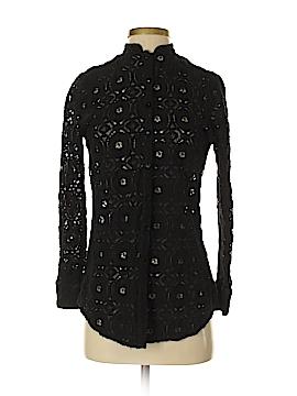 Cheryl Nash Windridge Long Sleeve Blouse Size S