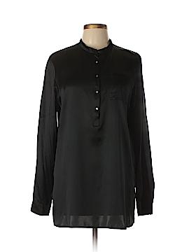 Calvin Klein Long Sleeve Silk Top Size 12
